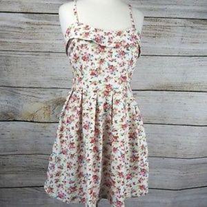 Lavand Anthropologie Floral Dress Sleeveless XL